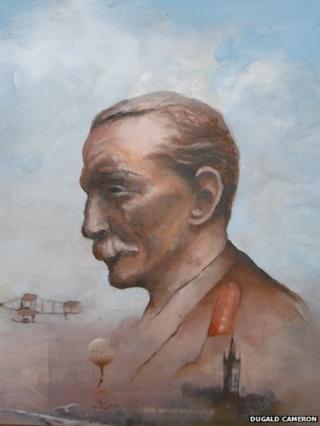 Portrait of Lt-Gen Sir David Henderson