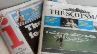 i newspaper and Scotsman