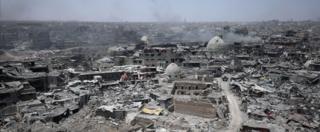 Mosul damages