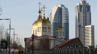 Храм Михаила Архангела в Грозном