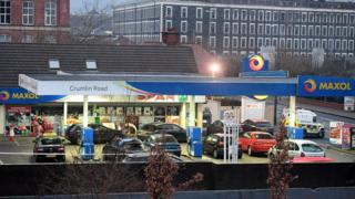 """Police said people were filling their cars with petrol to find """"bullets whizzing around them""""."""