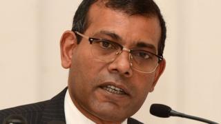 Mohammed Nasheed madaxwaynihii hore ee Maldives