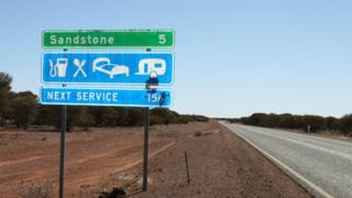 Дорога в Австралии