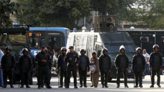 """عناصر من الشرطة المصرية """"أرشيف"""""""