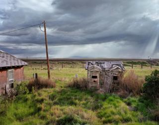 Tormenta a la vista, Medicine Bow, Wyoming