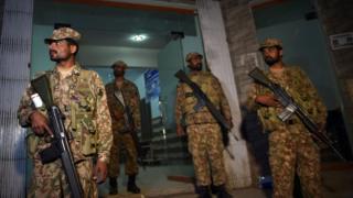 Пакистанские солдаты