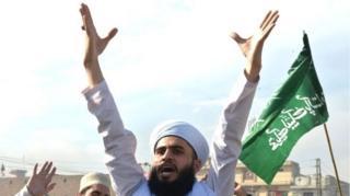 पाकिस्तान में तहरीक ए लब्बैक का प्रदर्शन