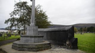 damage caused to memorial