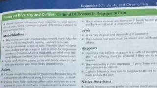 passages from textbook