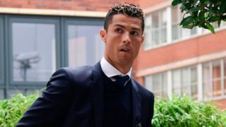 Real Madrid's Portuguese forward Cristiano Ronaldo pictured on 2 June, 2017