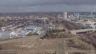 Industrial site in Goole