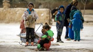 дети в Сирии