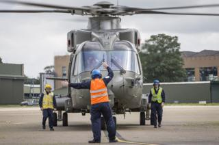 Last Merlin leaves RAF Benson