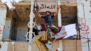 Libya'da bir savaşçı