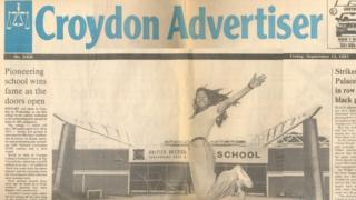 Croydon Advertiser in 1991