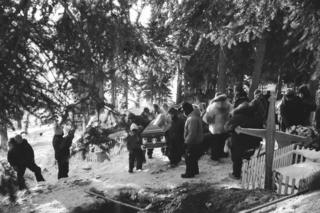 Sidney Huntingdon's funeral