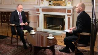 Vladimir Putin Mir 24 televizyonu programında