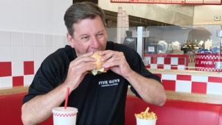 Paul Reynish, el director ejecutivo de Five Guys