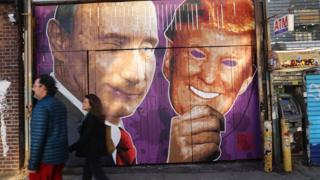 tranh trường Putin