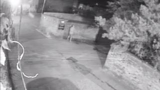 CCTV image of West Alley, Hitchin from 2 August 2015