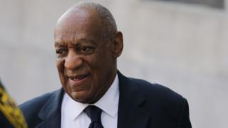 Bill Cosby arrives at the Montgomery County Courthouse in Norristown, Pennslyvania.