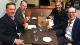 Frank Gardner, Andrew Marr, George Alagiah and Nick Robinson