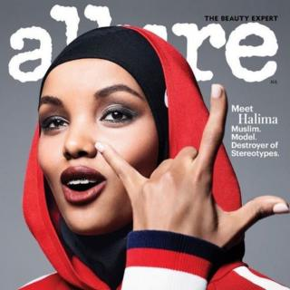 Front cover of Allure magazine