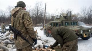 українські військові