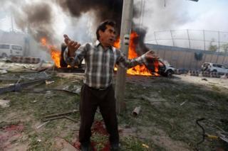 Afganistan saldırı