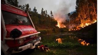 Cháy rừng ở Bồ Đào Nha