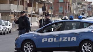 Italian police, 2017 file pic