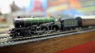 Hornby rail model