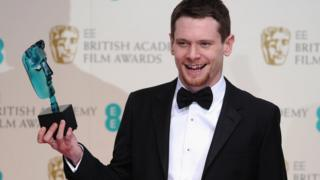 Jack O'Connell at the Bafta Film Awards