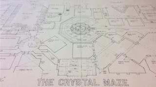 the Crystal Maze floorplan
