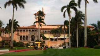 Mar-a-Lago resort in Florida
