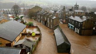 Mytholmroyd floods
