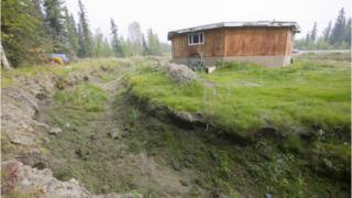 House near Fairbanks