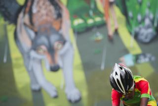 """Ethiopia""""s Zayd Hailu competes during the women""""s junior individual time trial at the UCI Cycling Road World Championships on September 18, 2017 in Bergen, Norway."""