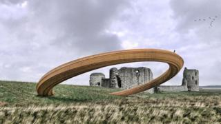 Artist impression of the Iron Ring Design