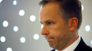 Ilmars Rimsevics, seen in profile, in this 2009 photo