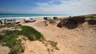 Salt Creek beach - file photo