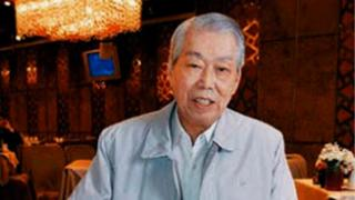 Chef Peng Chang-kuei pictured at his restaurant in Taiwan in 2008