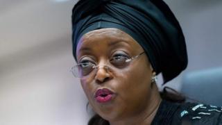 L'ancienne ministre nigériane du pétrole Diezani Alison-Madueke