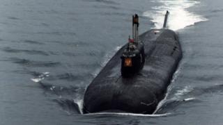Kursk nuclear sub, file pic