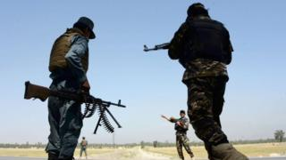 قوات أمن أفغانية