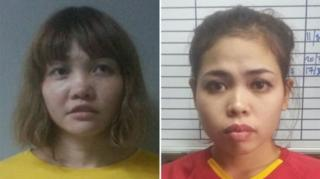 ดวน ทิ เฮือง ชาวเวียดนามวัย 28 ปี และ สิติ ไอสิอะห์ ชาวอินโดนีเซียวัย 25 ปี
