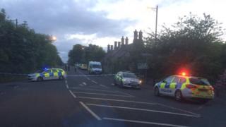 Longnidrry polic cars