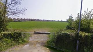 Field earmarked for homes