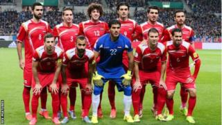 Suriah, Piala Dunia