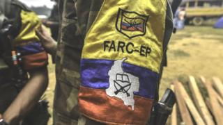 A Revolutionary Armed Forces of Colombia (Farc) camp in February 18, 2016